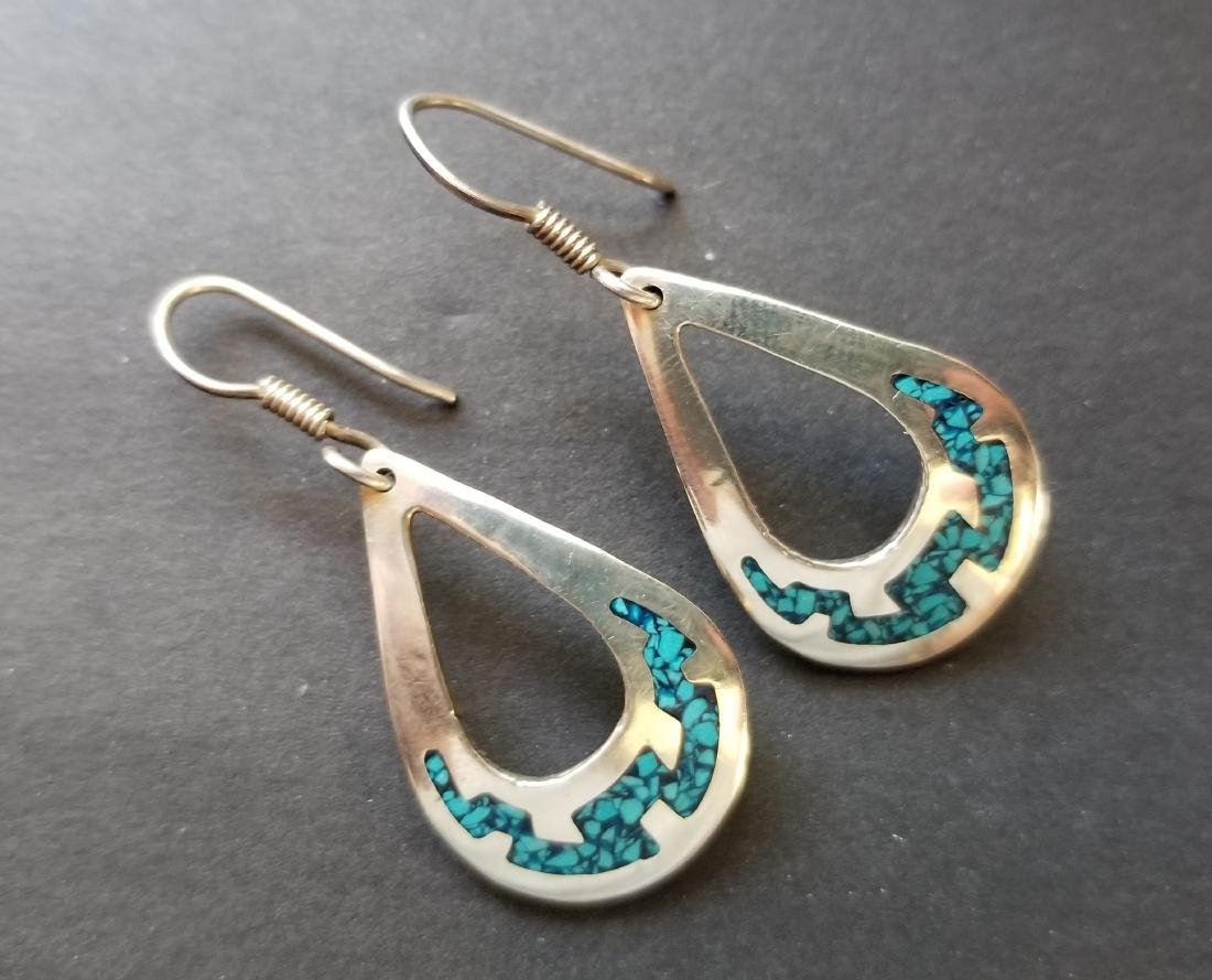 Vinatge Earrings with Turquoise