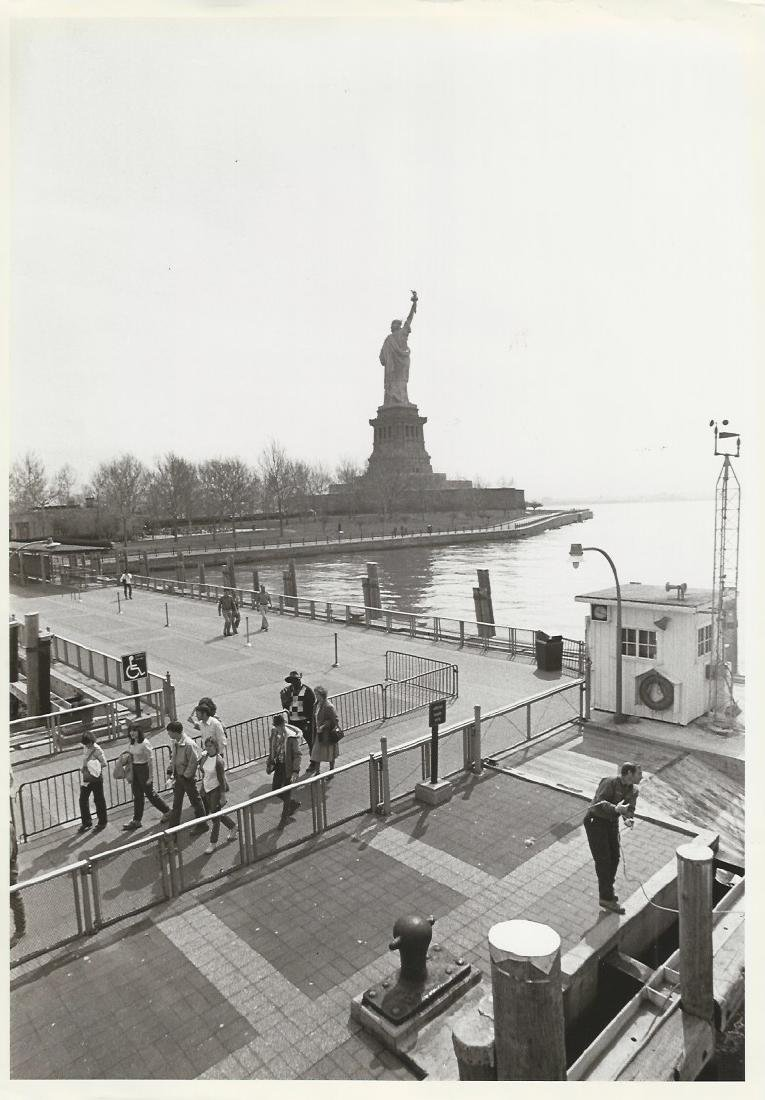 1983 The Statue of Liberty, New York