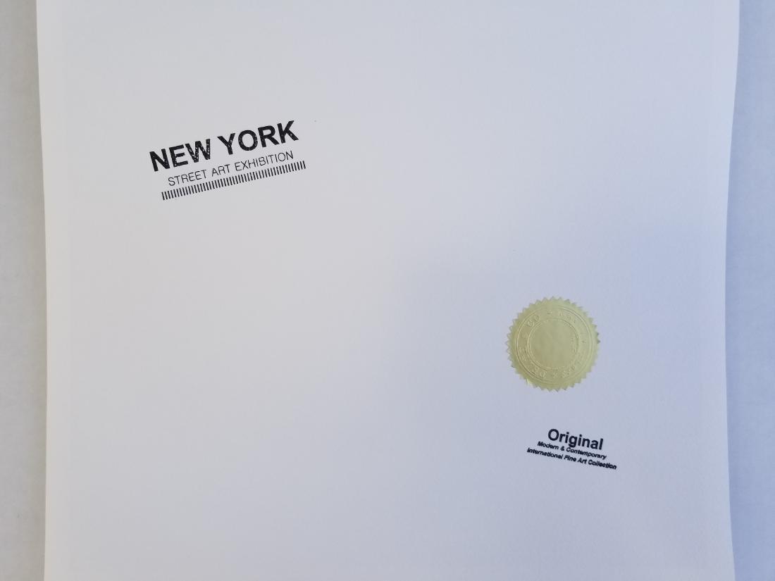 Death NYC Signed Graffiti Pop Art Print - 2