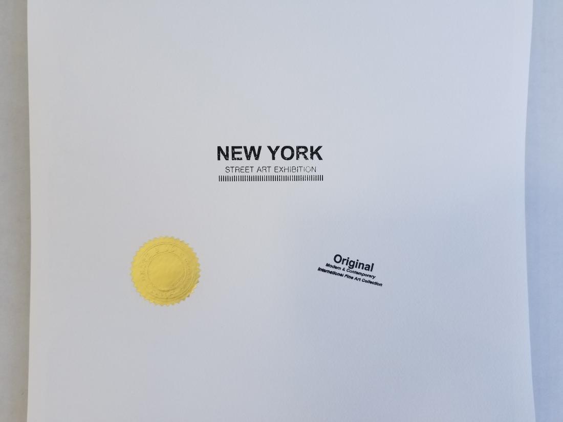 Death NYC Limited Ed Signed Graffiti Pop Art Print - 2