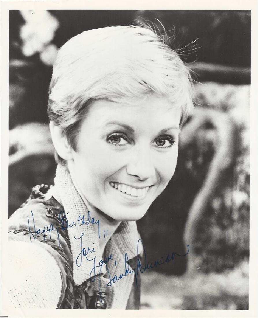 Sandy Duncan autograph vintage picture