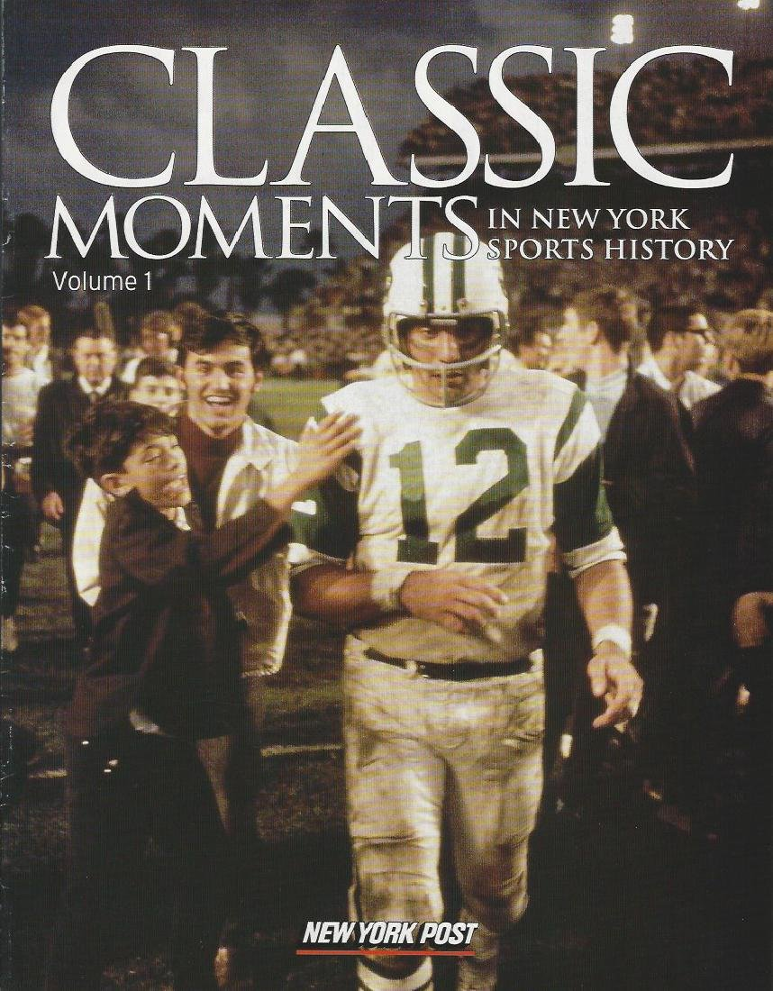 Set of 5 Classic Moments in New York Sports History