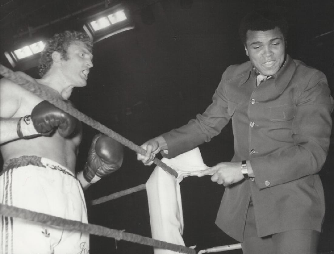 Muhammed Ali & Joe Bugner