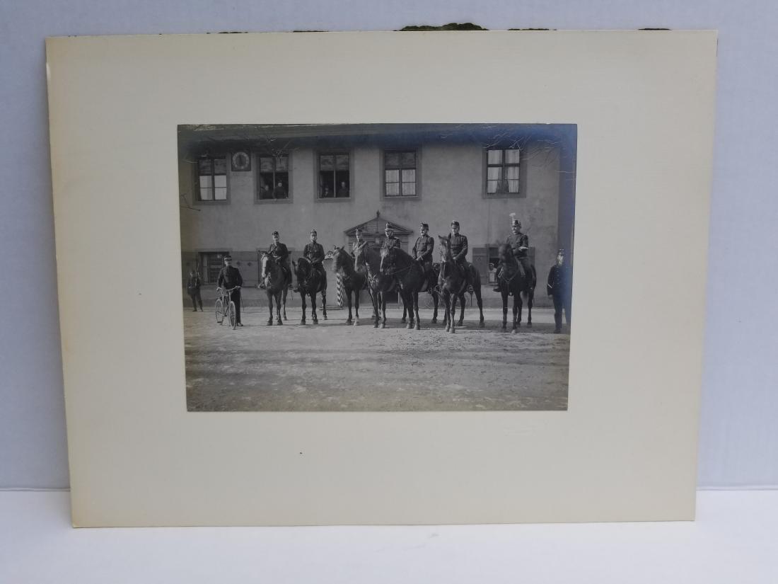 Original 1915 Photograph of Military