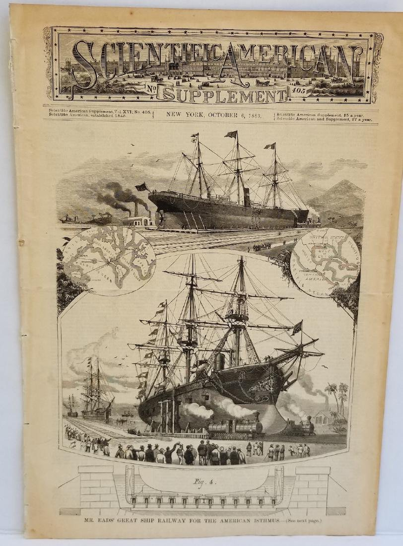 Scientific American Supplement NEW YORK October 1883