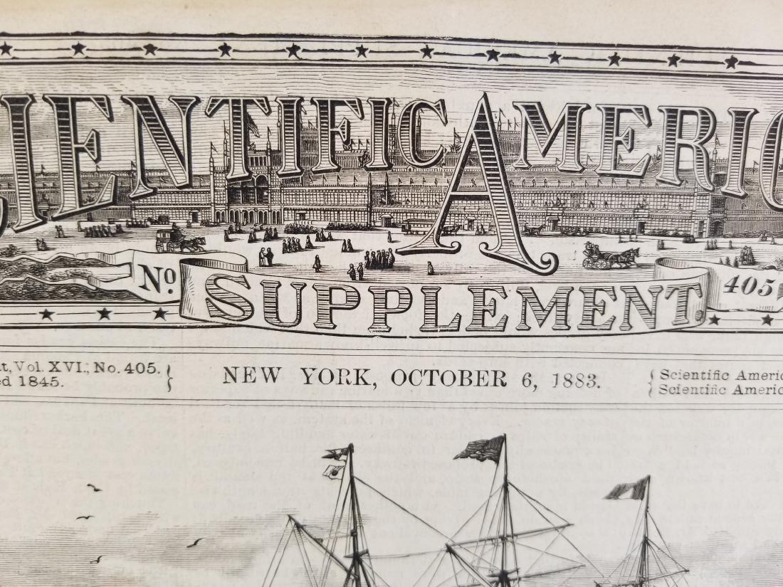Scientific American Supplement NEW YORK October 1883 - 2