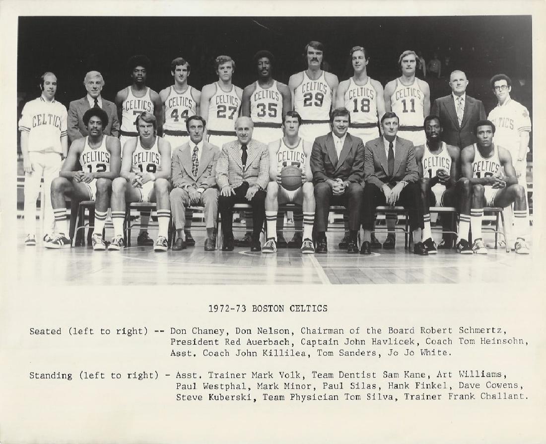 1972 -1973 Boston Celtics vintage picture