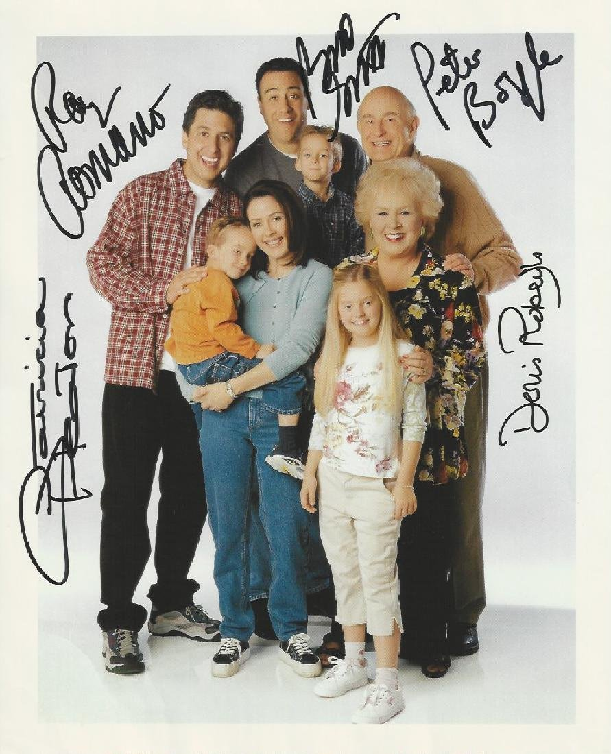 Everybody Loves Raymond autograph print