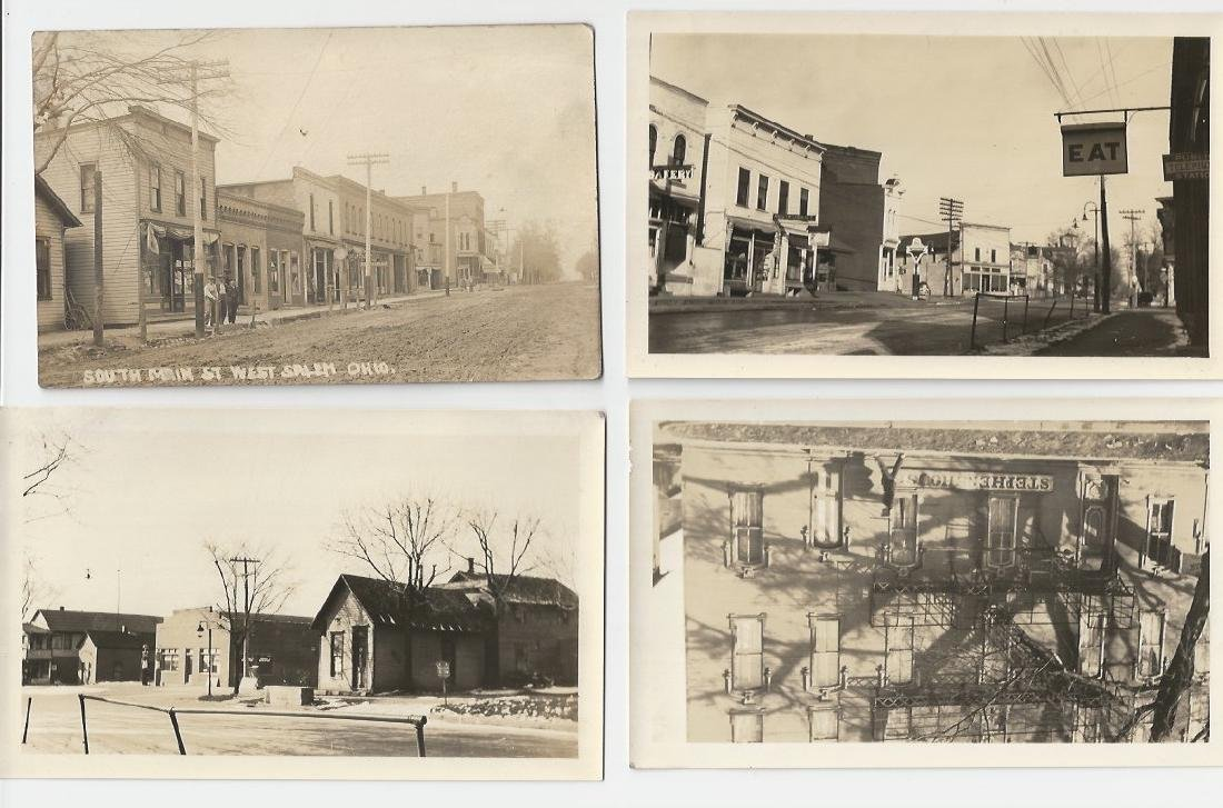 VINTAGE PHOTOGRAPHS SMALL TOWN- MAIN