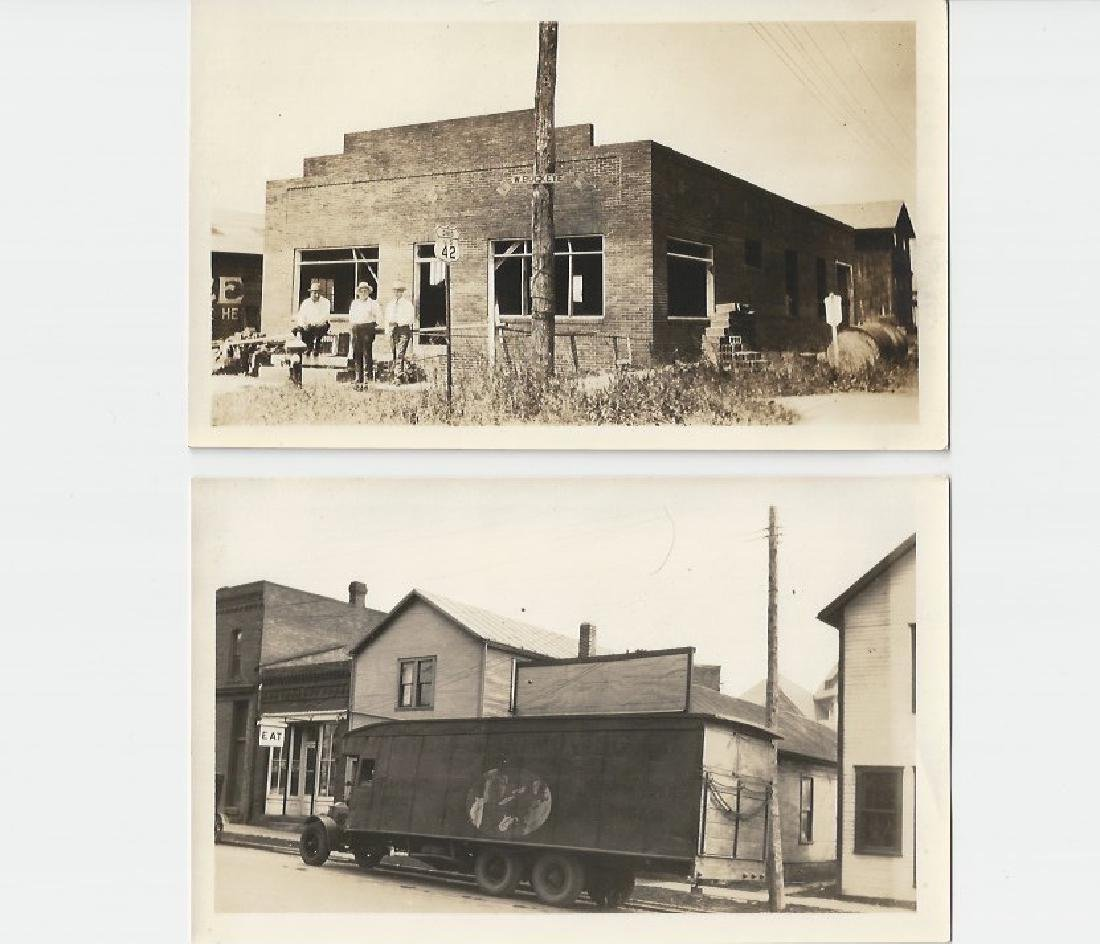 VINTAGE PHOTOGRAPHS SMALL TOWN- MAIN - 2