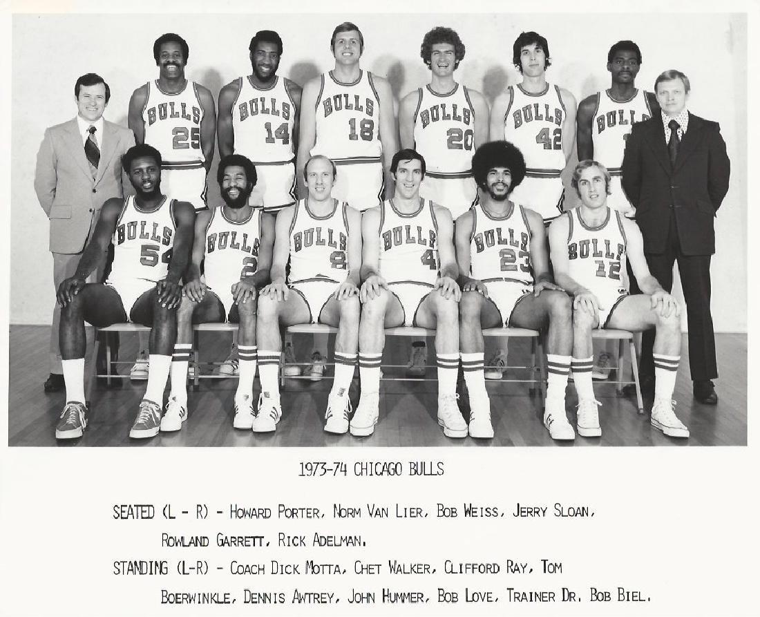 Vintage Chicago Bulls 1973-74 Photo