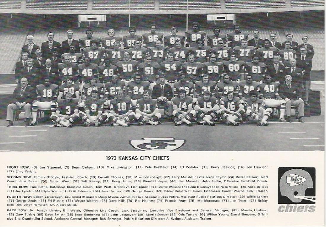 1973 Kansas City Chiefs Team