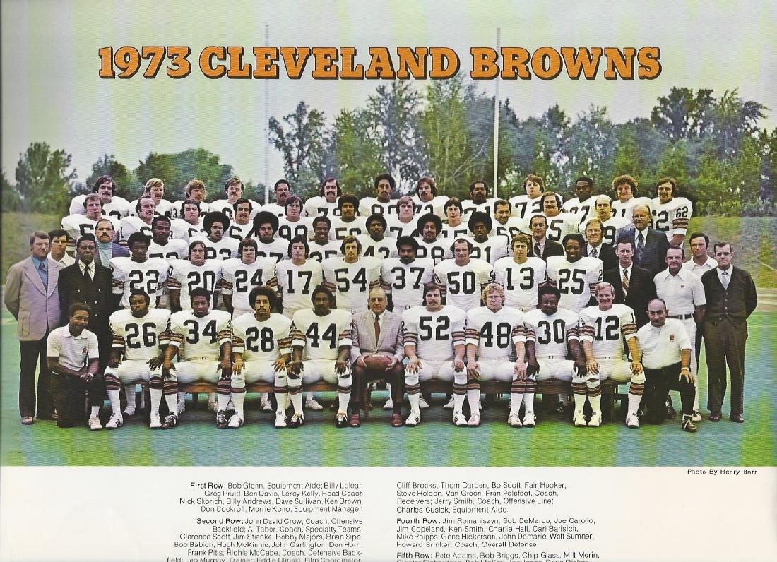 1973 Cleveland Browns Team