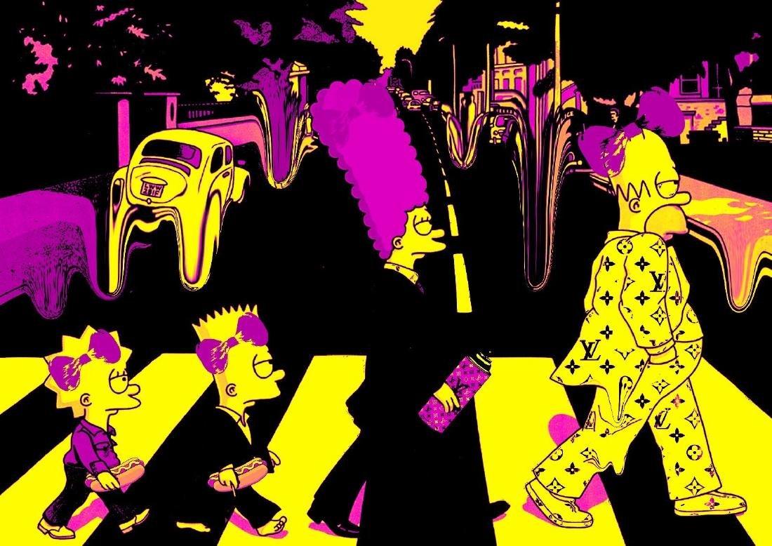 "Death NYC Ltd Ed Signed Graffiti Pop Art Print ""Family"