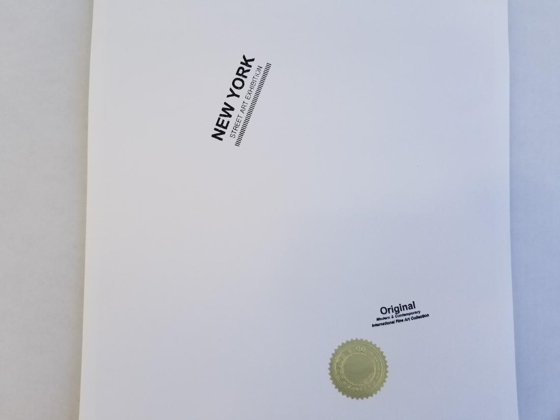 "Death NYC Ltd Ed Signed Graffiti Pop Art Print ""Family - 2"