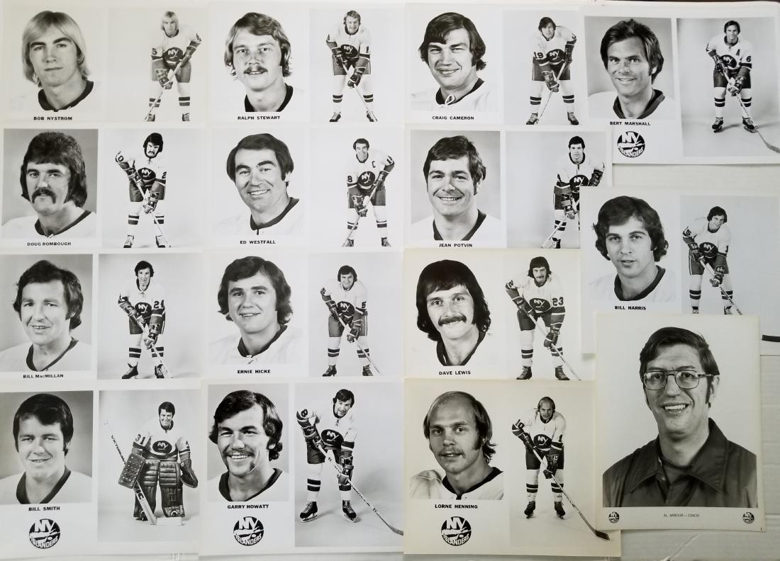 New York Islanders Team Vintage Photos
