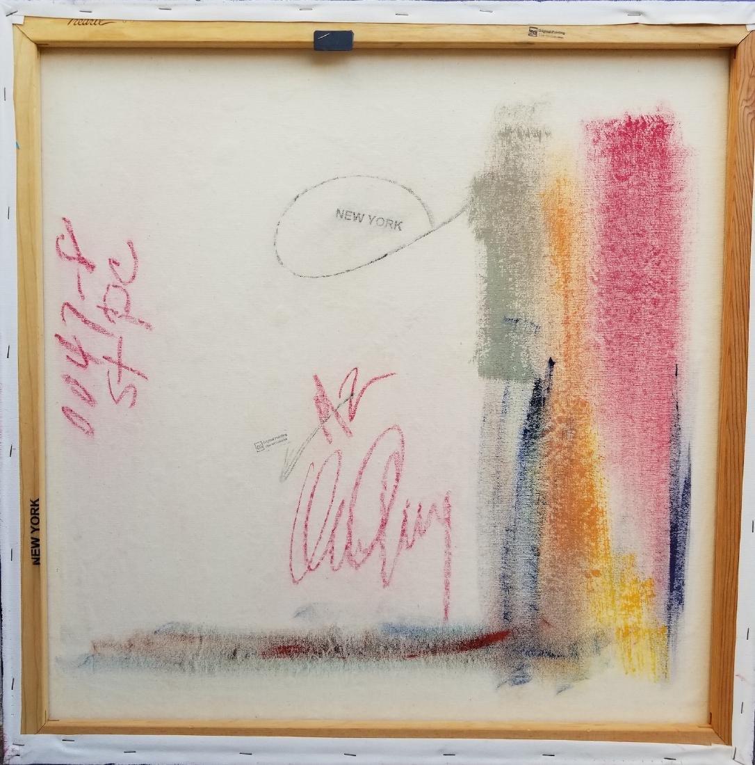Original Acrylic Painting New York Signed - 5