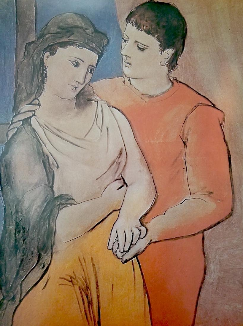 Vintage Picasso Print- The Lovers