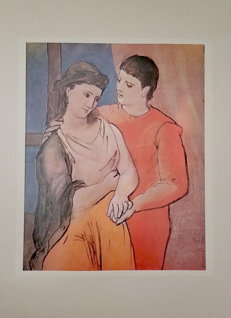 Vintage Picasso Print- The Lovers - 2