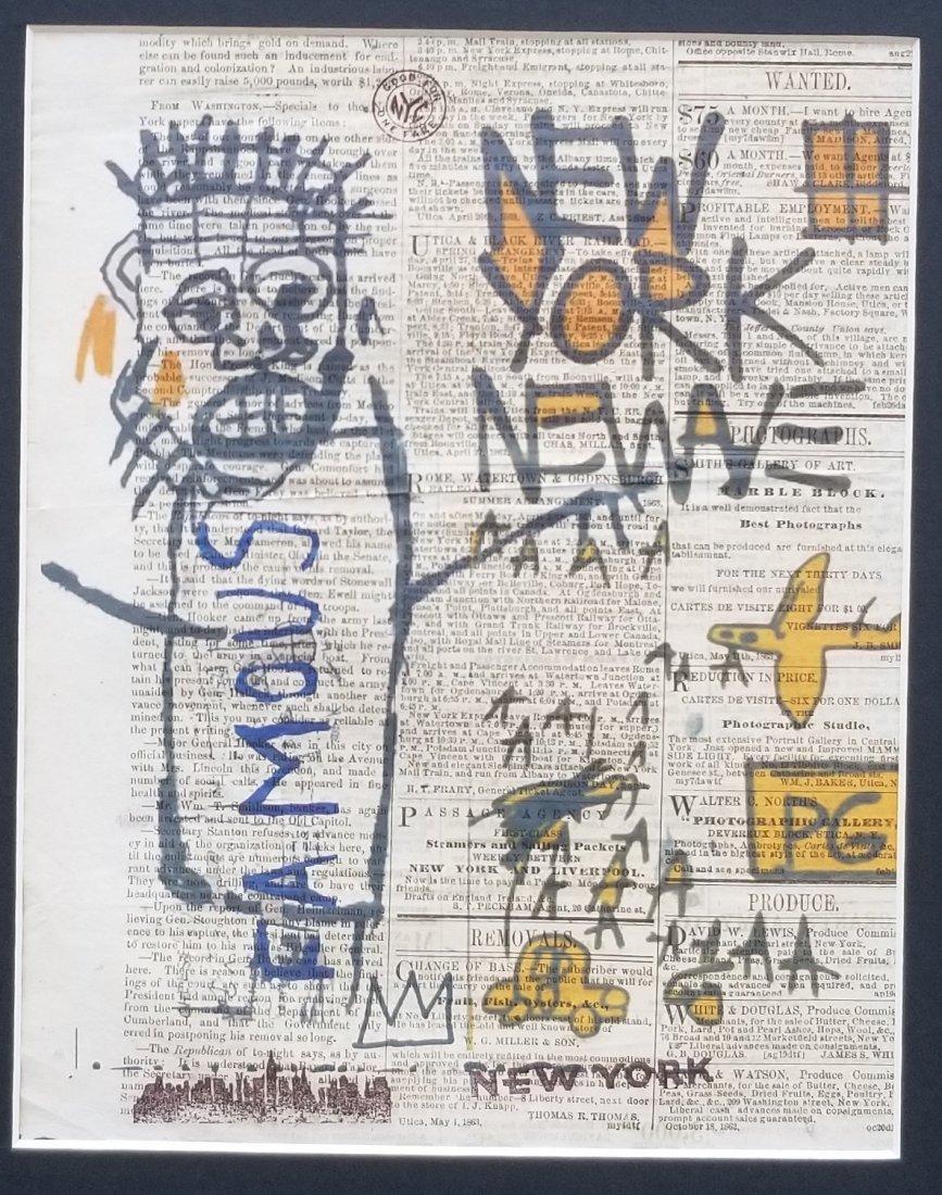 NEW YORK ARTWORK PRINT