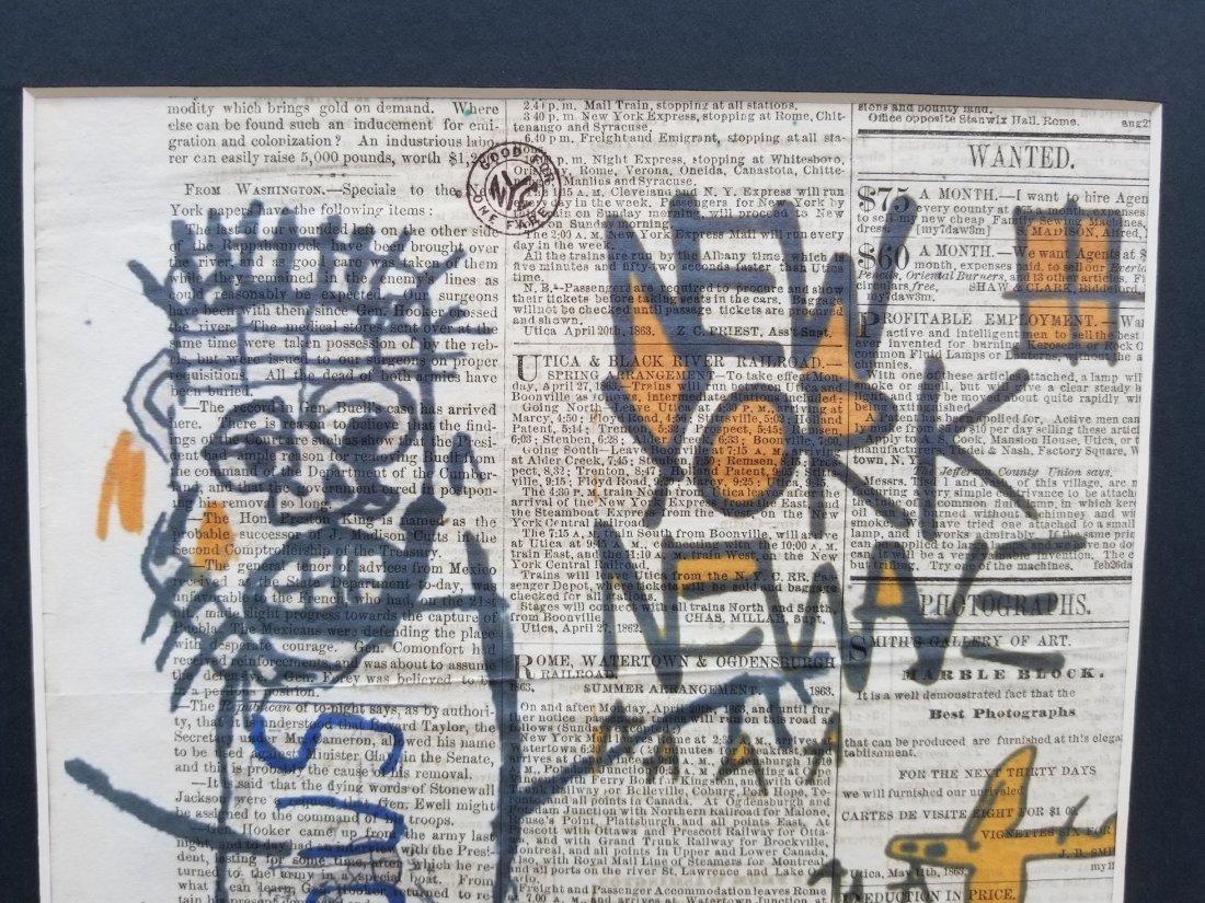 NEW YORK ARTWORK PRINT - 2