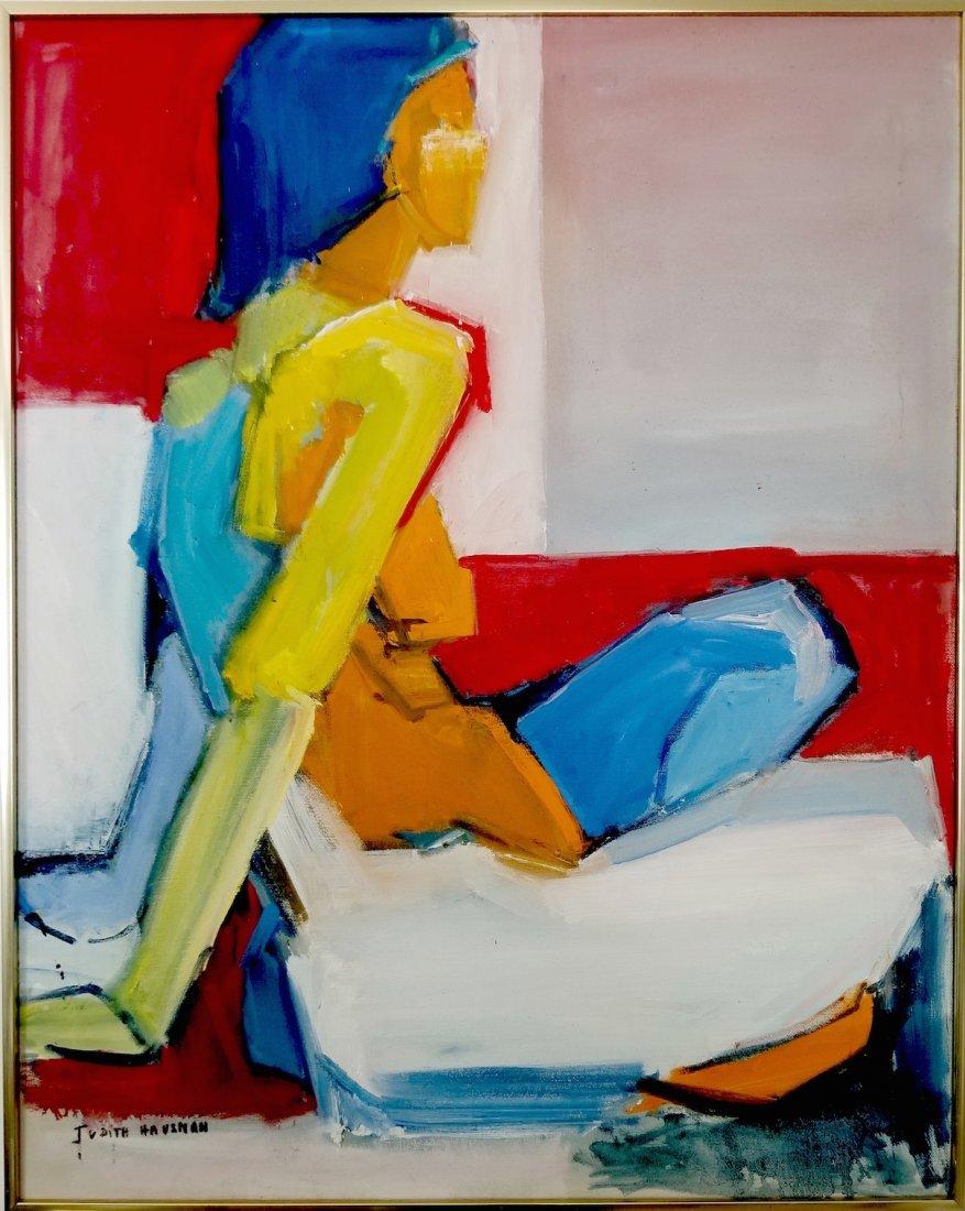 Judith Hausman. Contemporary Abstract Painting