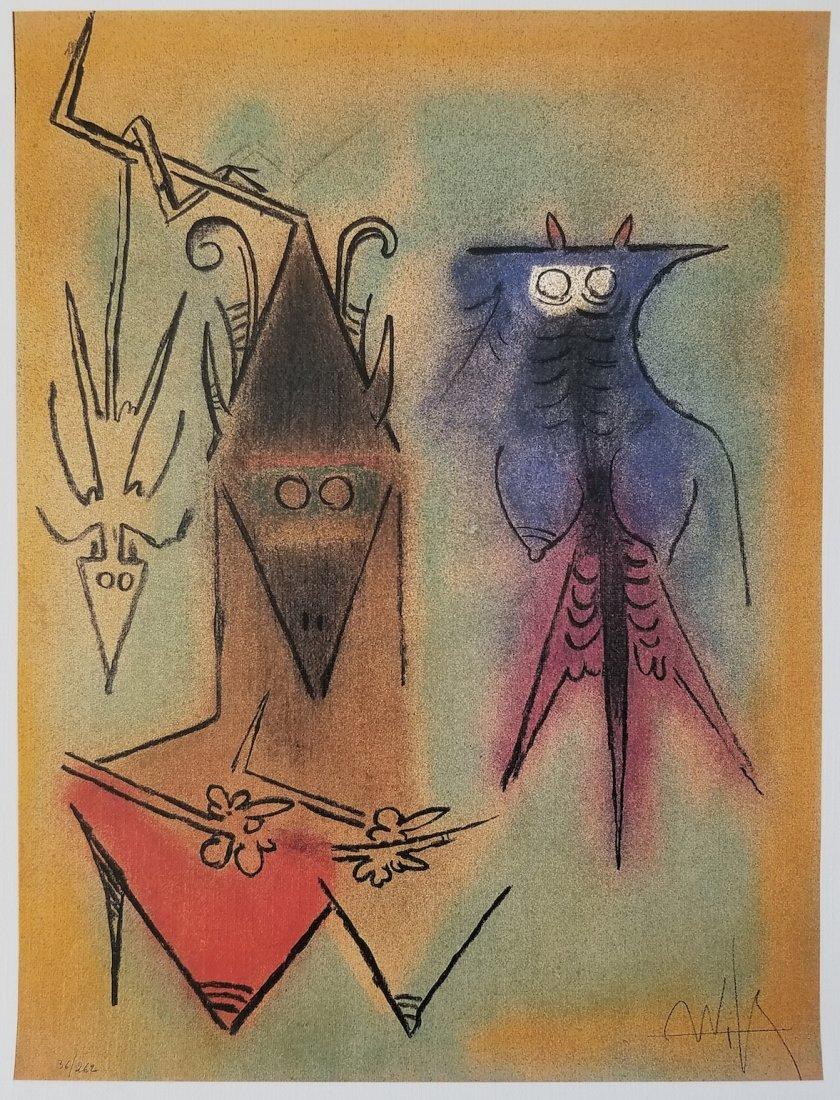 Wilfredo Lam - 36/262 Demons Familiers 1974