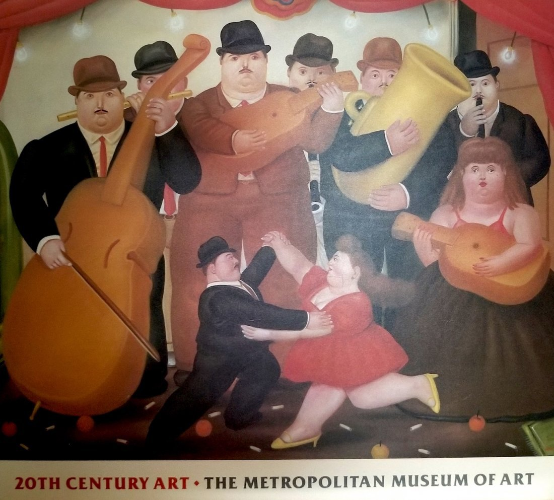 The Metropolitan Museum of Art. Botero Print