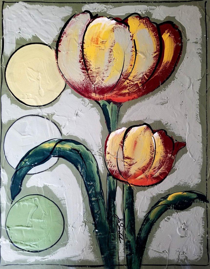 Original Acrylic Painting Signed
