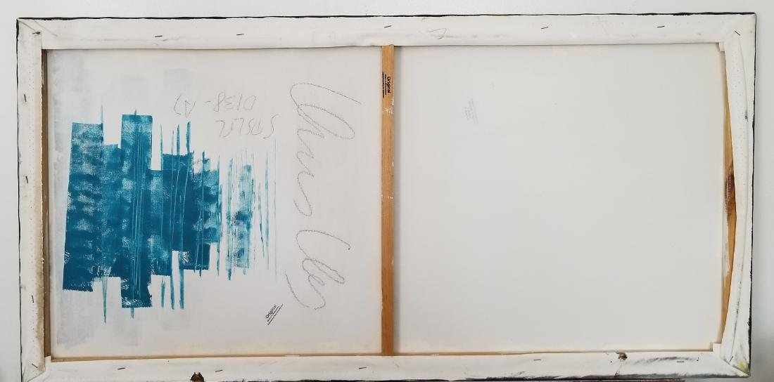 Original Abstract Painting Signed - 3
