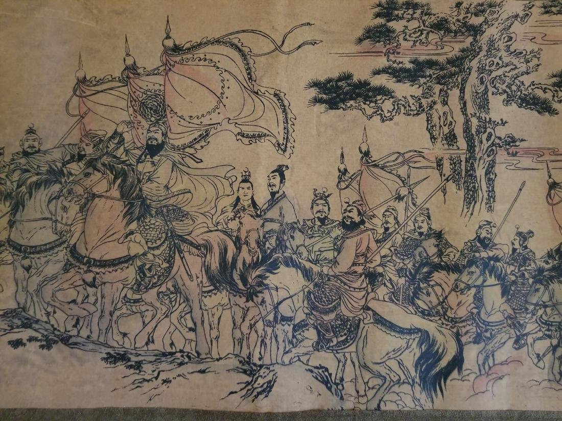 Chinese Scroll Painting Stamped