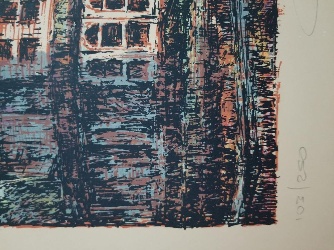 Limited Edition & Signed Vintage Lithography - 4