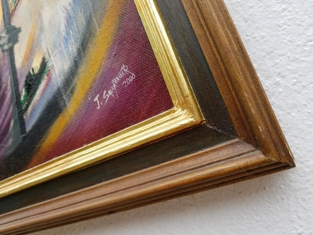 Original Acrylic Painting By Artist Juan Jose - 4