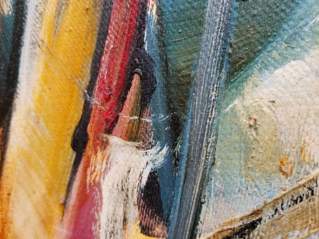 Original Acrylic Painting By Artist Juan Jose - 5