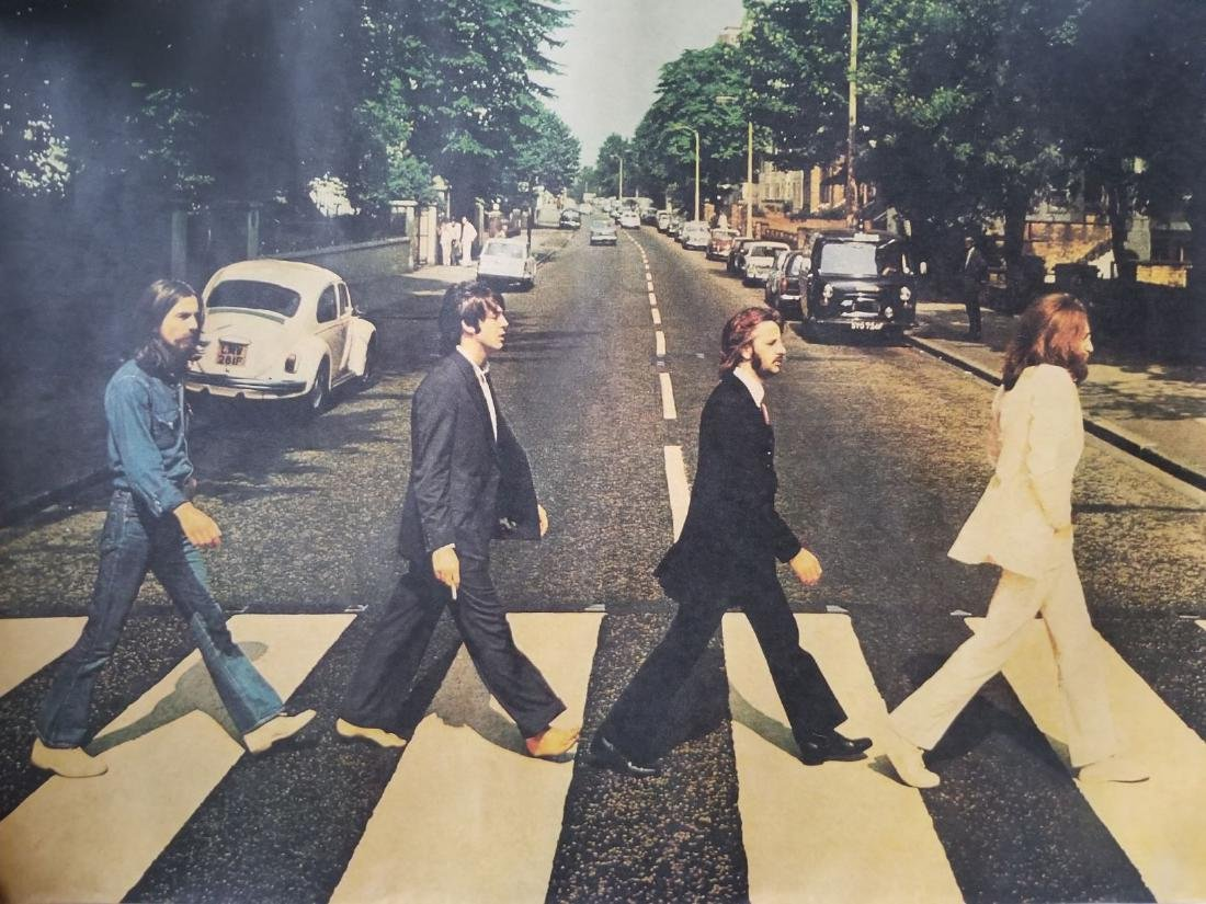 The Beatles / Abbey Road Poster
