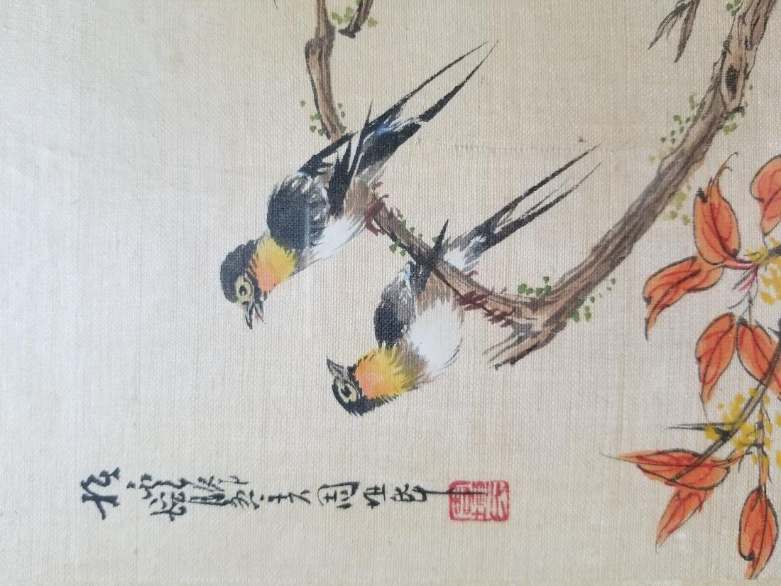 Original Chinese Watercolor Signed - 3