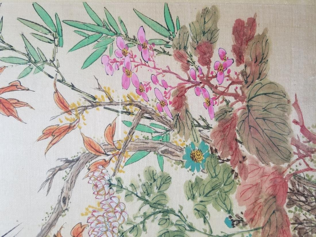 Original Chinese Watercolor Signed - 4