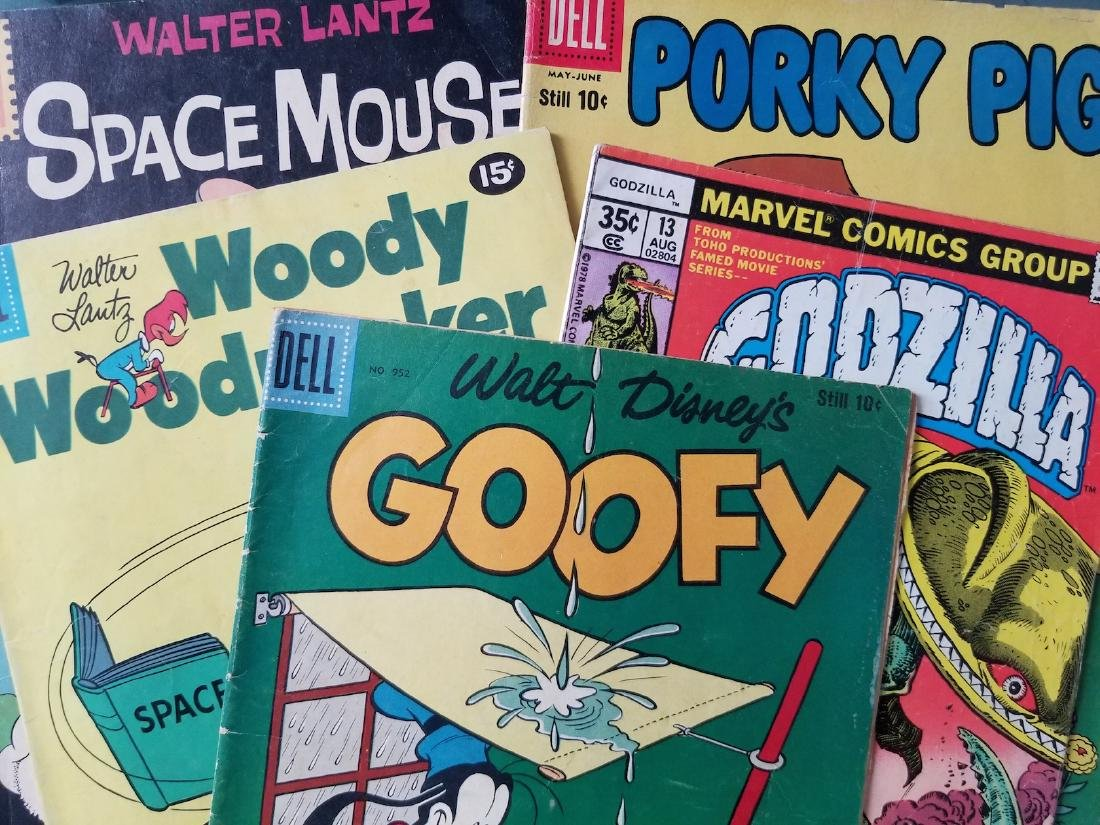 Set of 5 Vintage Comics