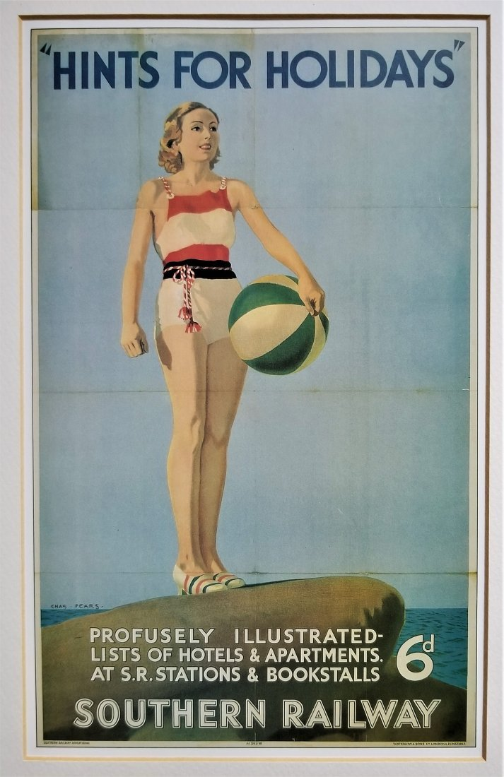 Hints for Holidays Print. National Railway Museum, York