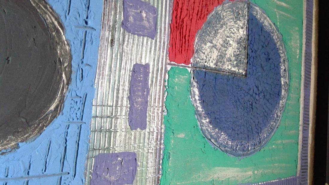 Original Abstract Acrylic Painting - 2