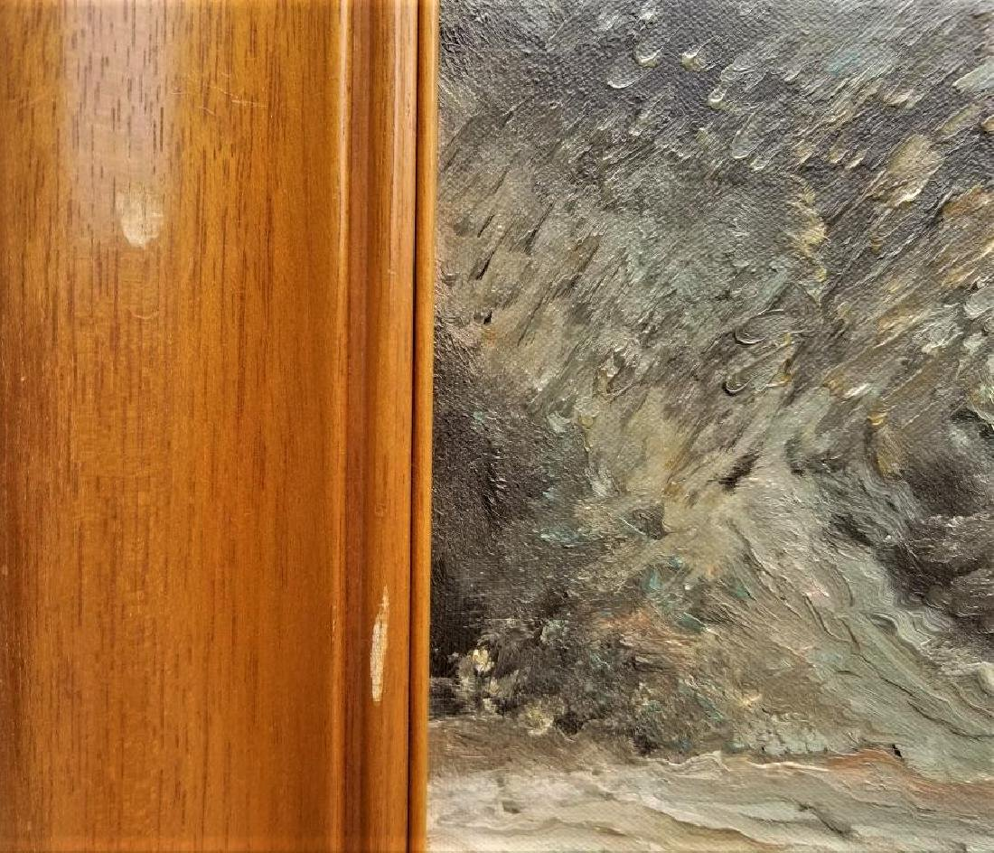 Original Oil Painting On Canvas. Water Source. - 3