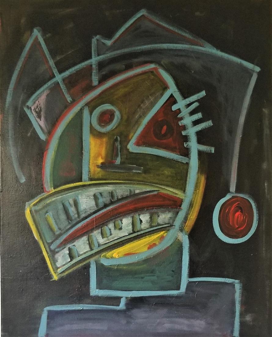 Original Abstract Acrylic Painting.
