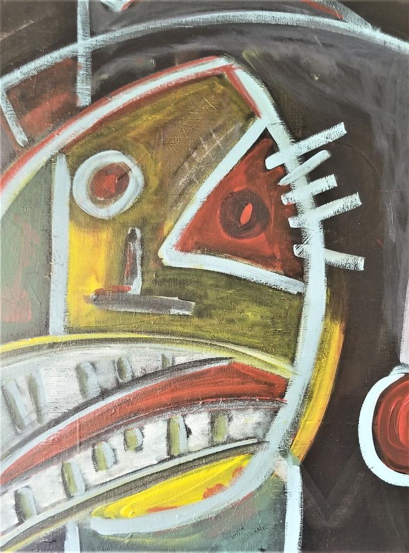 Original Abstract Acrylic Painting. - 2