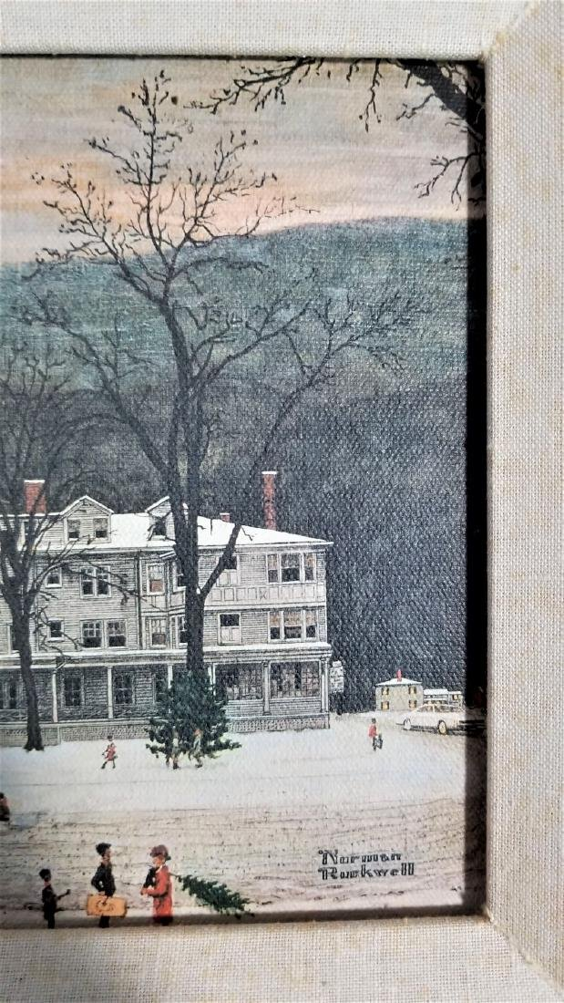 Original Vintage COA The Norman Rockwell Gallery - 2