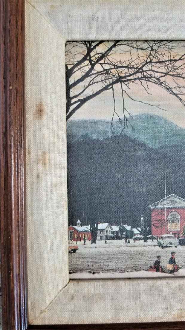 Original Vintage COA The Norman Rockwell Gallery - 3