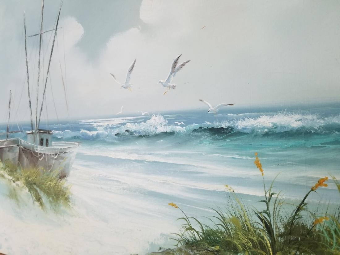 Landscape Painting On Canvas Signed By the Artist - 3