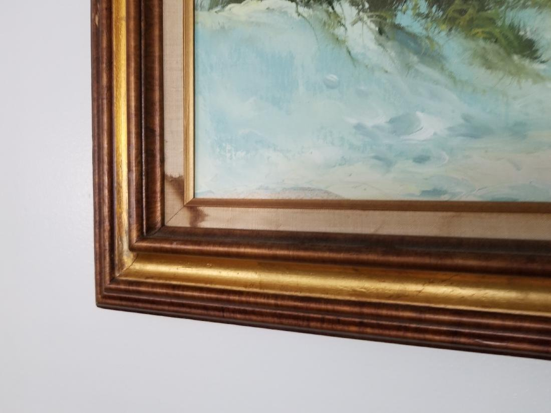 Landscape Painting On Canvas Signed By the Artist - 4