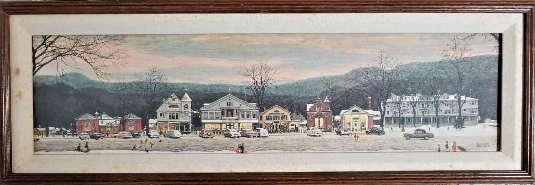 Original Vintage COA The Norman Rockwell Gallery