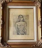 Vintage Picasso Print Signed & Stamped.