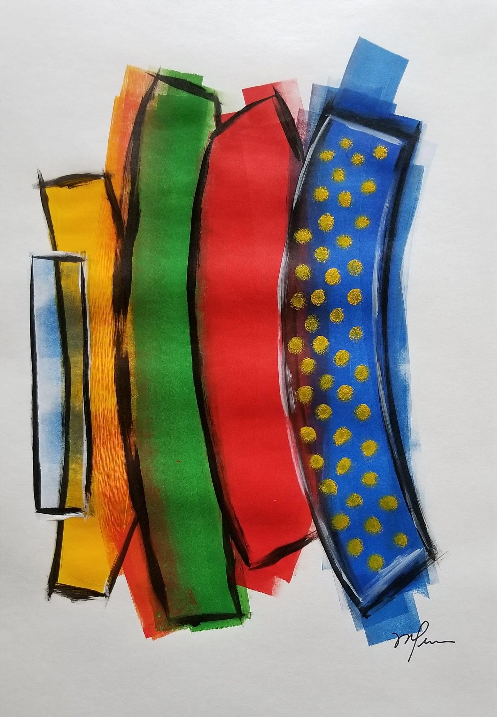 Original Modern  Acrylic Painting